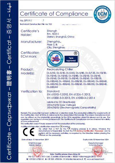 NB机构CE证书样本